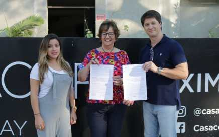 Casacor 2019: Firma de convenio