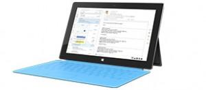 Table Microsoft Surface. Photo: Microsoft