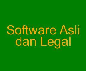Software Legal Terbaru Hari Ini Sabtu 23 Januari 2016