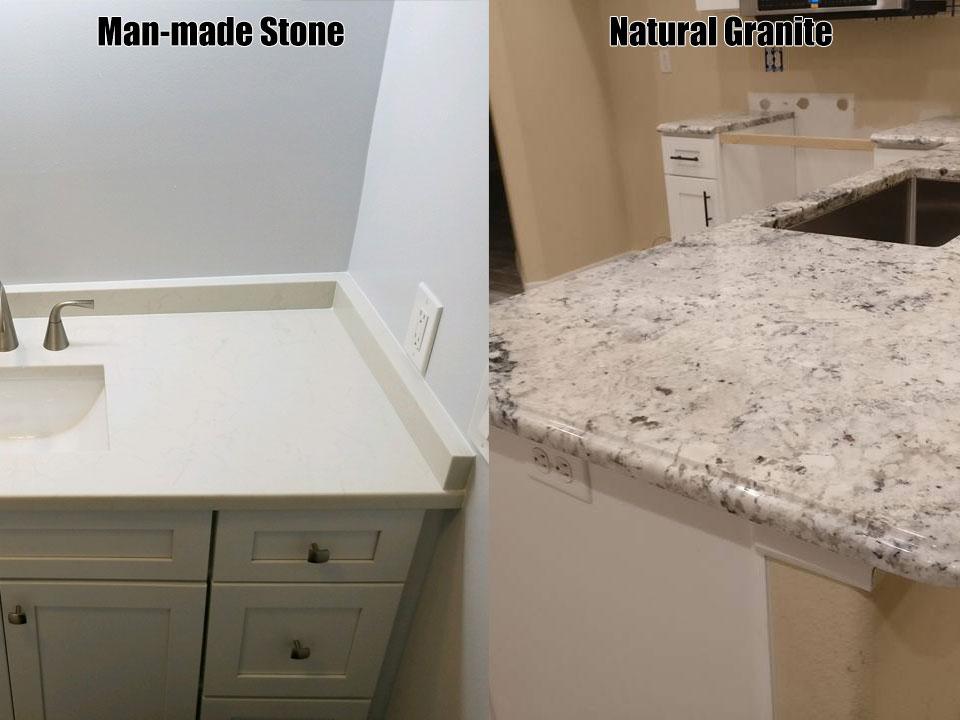 Superieur Choosing A Granite Countertop Or Man Made Stone?