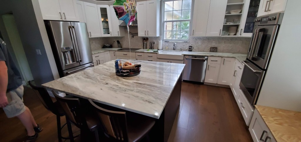Beautiful Brown Fantasy Granite Quartzite Countertops Tampa, Brandon, Pinellas County Florida FL photo