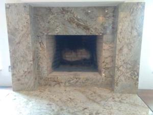 Granite Fireplace Facad Tampa Granite Countertops picture