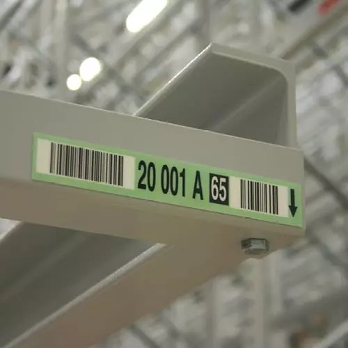 cold store labels for racks shelf