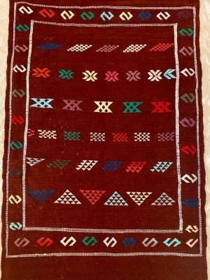 handcrafted Berber rug Marrakech