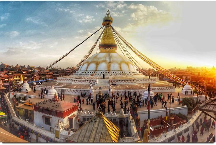 The Real Nepal Tour - Day 2 Boudhanath Stupa
