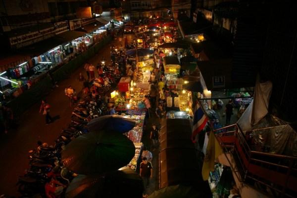 street market worowong market