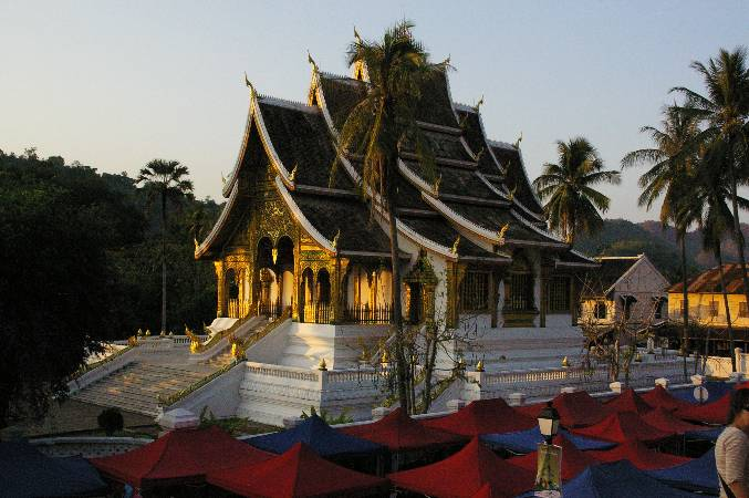 Temple in town.