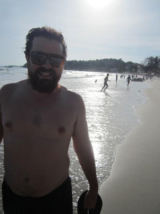 Finally back at the beach - Serendipity beach, Sihanoukville