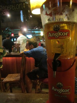 beer tower Sihanoukville