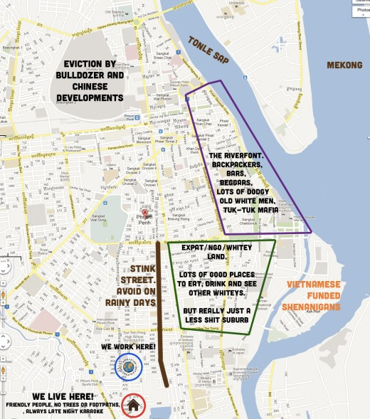 map of phnom penh