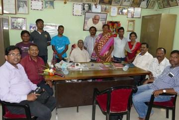 Mitarbeiter des Banabasi Seva Samiti Zentrum, Balliguda (Foto: C.M.)