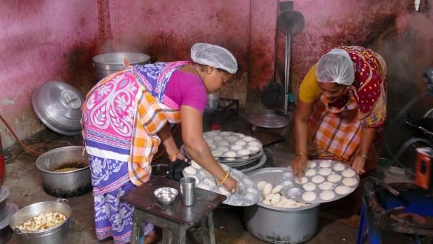 Küche Banabasi Seva Samiti Zentrum