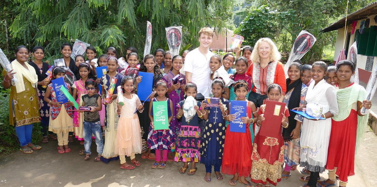 Im Vikash Parishad Waisenhaus für Mädchen