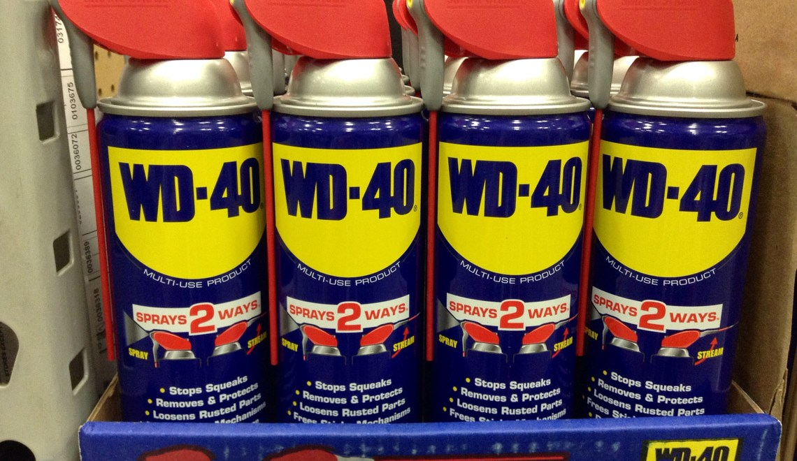 Miracle uses of WD-40