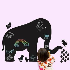 Wall decals - chalkboard animals