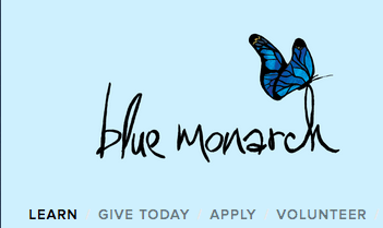blue monarch pen pals