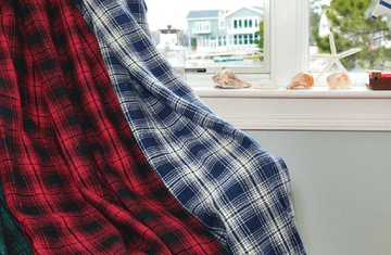 plaid woolen blankets