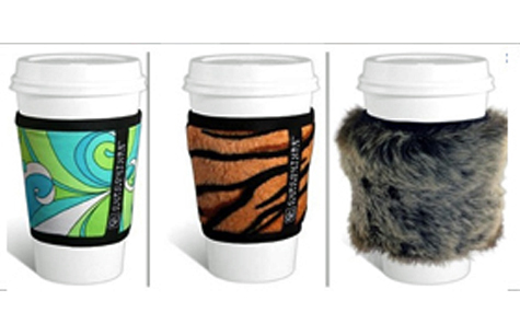 reusable coffee cup sleeve
