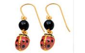 Bug-Jewelry---ladybug-earrings