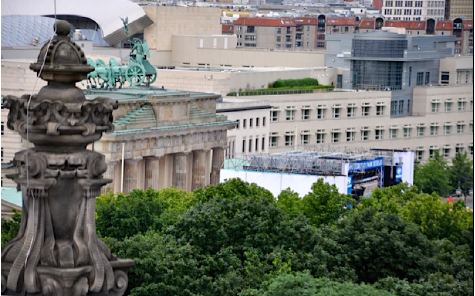 Berlin to Munich during World Cup Soccer…