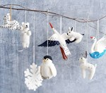 Holiday-ornaments---felt-animals