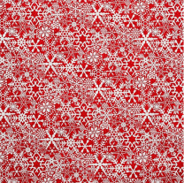 fesitive snowflake wrapping paper