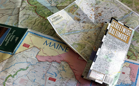 Are paper maps obsolete?