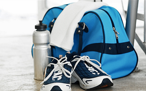 Gym bag packing list