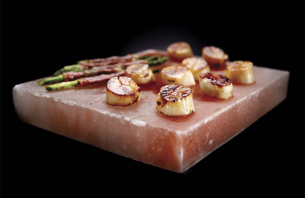 Cooking with Himalayan Salt Blocks