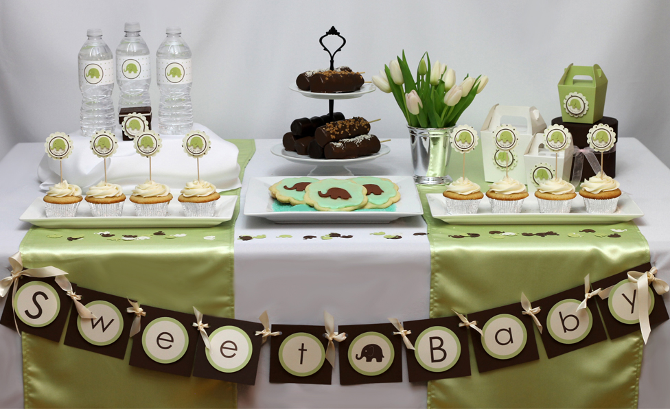 Giving a Baby shower or a 'Sip and See'