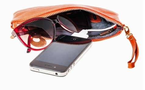 Multi-tasking – Phone chargers in your purse or wallet