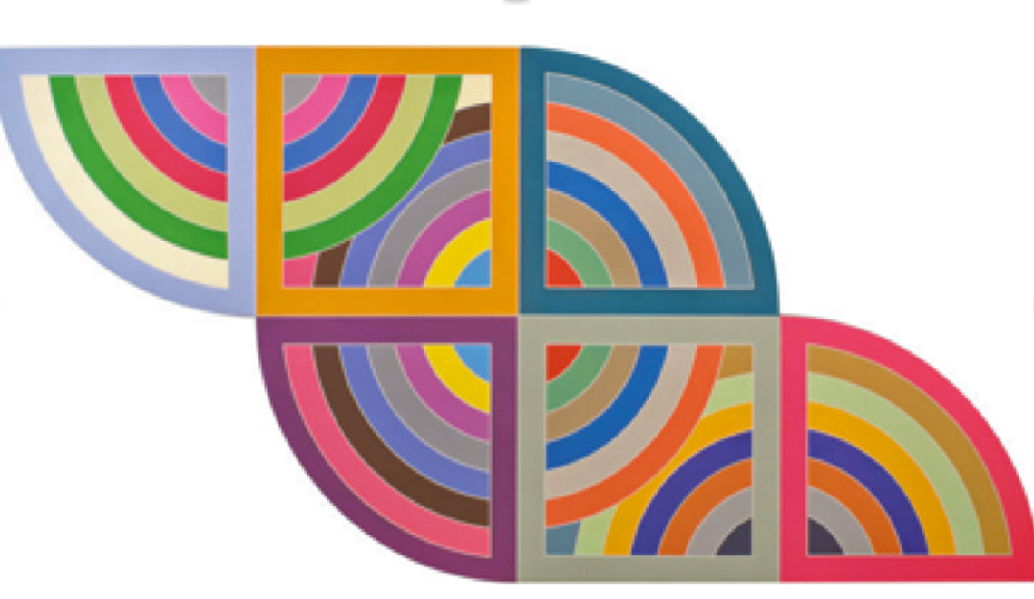 The works of Frank Stella