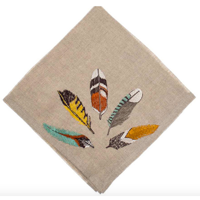 Holdiay-Gifts-2015---Feather-dinner-napkins