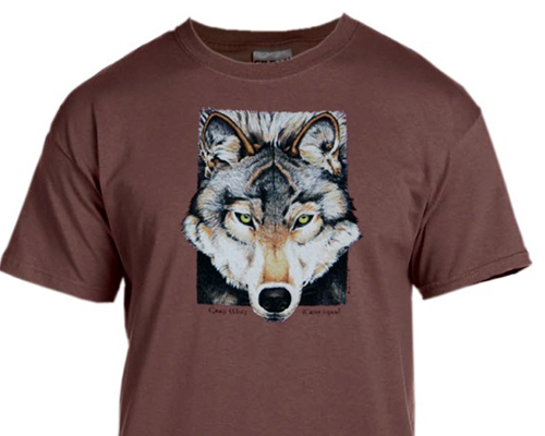 Made-in-Maine-Coyote-T-Shirts