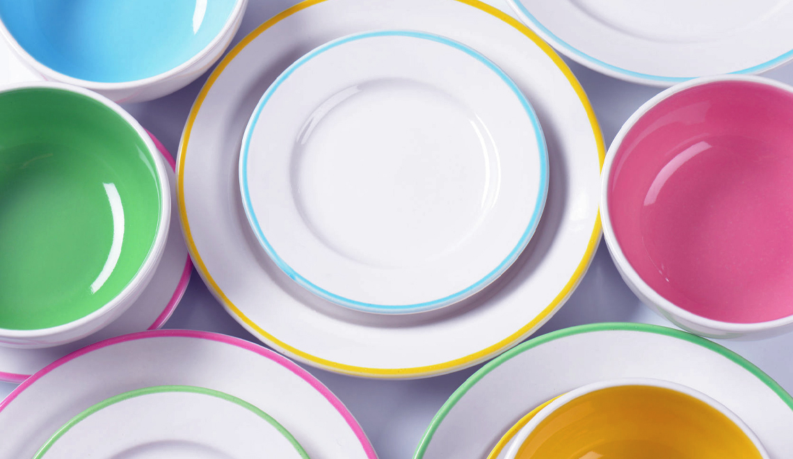 Outdoor melamine dinnerware