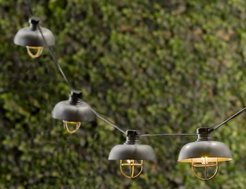 Party String Lights - Restoration Hardware Cargo lights