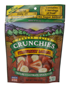 Snacks for Summer - Freeze dried crunchies