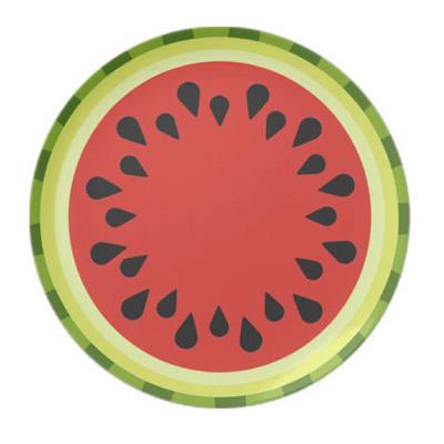 Watermelon-Motif---Melamine-plate