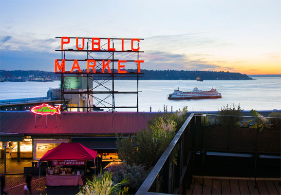 Visiting Seattle, Inn at the Market