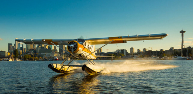 Visiting Seattle on a Float Plane