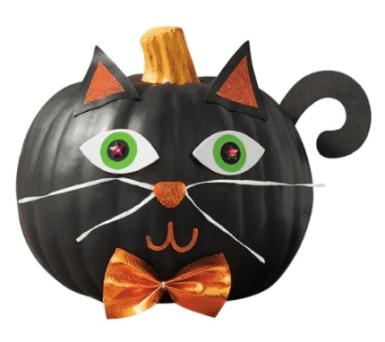 Hocus Pocus Cat Pumpkin