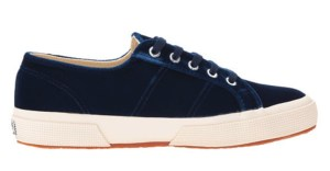 comfortable-shoes for-travel-superga-velvet-sneakers
