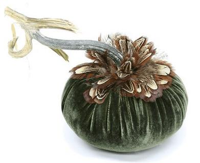 Fall decorative pumpkin