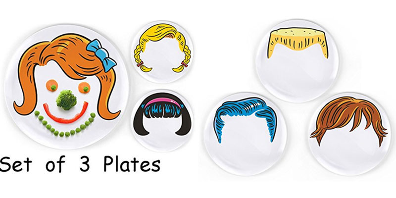 Chemical free plates