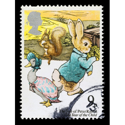 Beatrix Potter, Commemorative Stamp