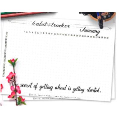 Bullet Journal, Cards