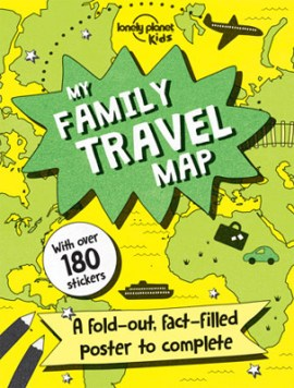 Long Distance Family travel map
