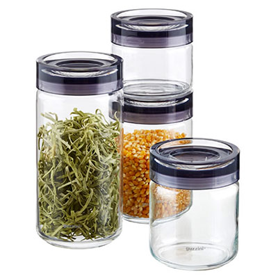 storage containers for the pantry keep food fresh a sharp eye. Black Bedroom Furniture Sets. Home Design Ideas