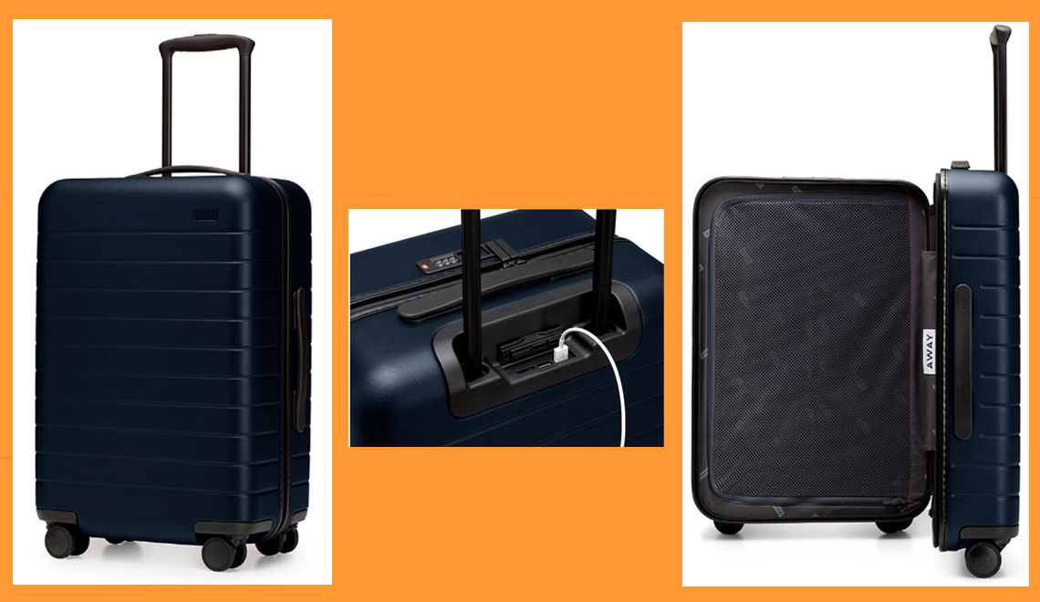 modern carry-on suitcases