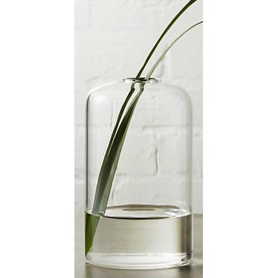 beaker glass bud vase